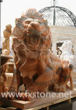 Marmorskulptur-Tier für Garten-Dekoration