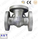 Conexões de tubos Parte da válvula Liga e aço sólida Casting de investimento