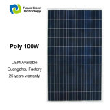 100W PV Baugruppe für Sonnensystem, Qualitäts-Sonnenkollektor für Hauptgebrauch