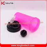 700ml высокое качество BPA освобождает пластичную бутылку трасучки протеина с фильтром (KL-7033)