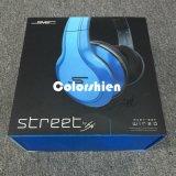 Rectángulo de regalo eléctrico colorido de la visualización del embalaje del papel del auricular de la alta calidad