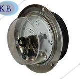 Tout l'indicateur de pression électrique de contact d'huile d'acier inoxydable