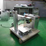 20W de Laser die van de Vezel van het metaal Machine met Roterende Klem merken