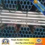 ERW schwarzes geschweißtes Stahlrohr u. heißes galvanisiertes geschweißtes Rohr