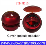 Std-M155 surgir Speaker, Cover Capsule Speaker, Mini Hamburger Speaker, 3.5 milímetros Portable Speaker para la PC de Computer Phone Notebook
