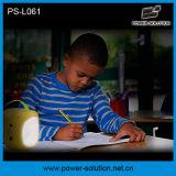 3.4W 2PCS 독서 빛을%s 가진 태양 전지판 4500mAh 재충전용 Lead-Acid LED 태양 램프 손전등