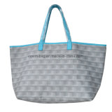 Allover Printed PU Leather Made Ladies Large Tote Bag