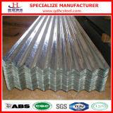 Chapa de aço ondulada revestida do zinco de alumínio de Sglcd