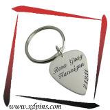 Trousseau de clés fait sur commande en métal de couples de cadeau de mariage (XD-KC-021)