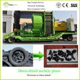 pour la machine de recyclage des déchets de défibreur d'arbre de double de grande capacité de vente