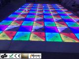 LEIDENE van de Vloer DMX van de Prijs van de fabriek Auto van de Partij van het Directe Verkopende RGB toont de Dansende Stadium van Dance Floor Door sterren verlicht Dance Floor Lichte Disco