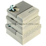 Handmade variopinto Offset Printing Paper Gift Box per Gift Packaging