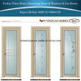 Porta de alumínio do toalete da porta do banheiro da porta do Casement da porta interior