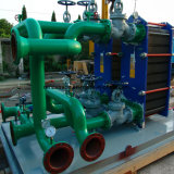 열 펌프 냉각 장치 산업 물 격판덮개 냉각기 Gaskted 격판덮개 열교환기