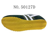 No 50127 ботинки кожаный людей вскользь Stock