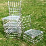 Cadeira desobstruída de Plexi Chiavari para o salão de baile