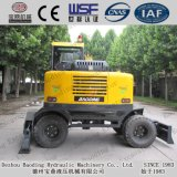 販売のための中国のログのローダーの小さく黄色い木製のローダー