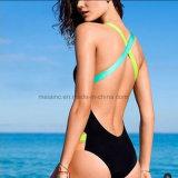 Neueste Entwurfs-einteilige Dame-reizvoller Bikini