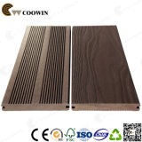 Résistant aux intempéries Anti-Slip Fake Mixed Color WPC Decking
