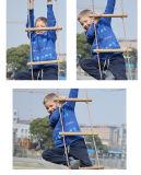 Escada de corda de madeira de escalada para os miúdos (MQ-CRL01)