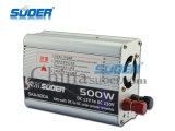 Suoer Solar Power Inverter 500W Square синусоида Инвертор 12V 220V DC для солнечных инверторов переменного тока (SAA-500A)
