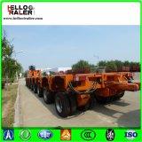 100 - 200 톤 다중 차축 판매를 위한 유압 트럭 트레일러