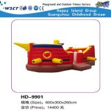 Lovely Cartoon Inflatable Castle Game Small Bouncy House (HD-9904)