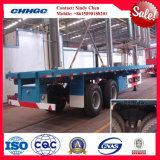Bogie Suspension를 가진 40ft Container Semi-Trailer/Flat Bed Trailer