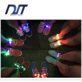 La aceituna luminosa ligera del cordón de zapato del LED que sorprendía formó