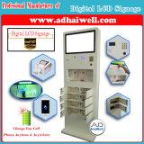 """32 de """" Volledige LCD van de Aanraking HD Openbare Vrije Mobiele Telefoon van de Kiosk met het Laden van de Kabel Mfi Post"""
