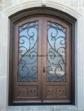 装飾的な機密保護の鉄の入口の表玄関
