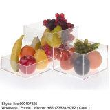 Effacer le cube acrylique en étalage de 5 côtés
