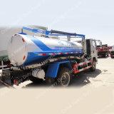 소형 4X2 하수 오물 고압 청소 트럭 거리 세탁기 트럭을%s 가진 찌끼 흡입 진공 유조선