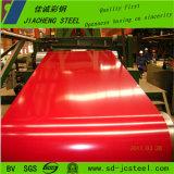 La alta calidad prepintó la bobina de acero para el material para techos