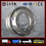 트럭 또는 트레일러 또는 버스 또는 트랙터 9.00*22.5 11mm D852를 위한 경량 강철 바퀴 변죽