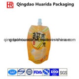 Aluminiumfolie-Baby-Plastik lamellierter Gelee-verpackenbeutel mit Tülle