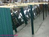 Alto strato di alluminio Polished libero riflettente dello specchio
