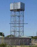 Tanques de água seccionais com torre