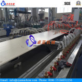 WPC Light Hollow Wall Decoration Panel Machine / Plastic Extruder