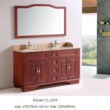 Мебель ванной комнаты с тщетой зеркала деревянной