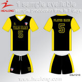 Futebol Jersey da liga da faculdade do Sublimation da forma de Healong