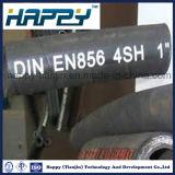 Tuyau hydraulique à tuyaux flexibles en fil flexible 4sh 4sp