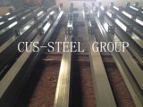 Camera di progetto d'acciaio chiaro Wearhouse/struttura d'acciaio