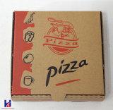 싼 종이에 의하여 접히는 피자 상자
