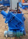 Rodillo de la correa de la construcción de edificios de la estructura de acero C que forma la máquina