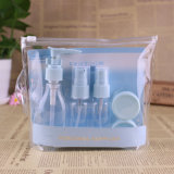 De plastic Reeks van de Reis, de Fles van de Spuitbus van de Pomp, Kosmetische Kruik (NTR16)