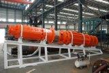 Bomba sumergible centrífuga gradual de alta presión del drenaje de mina