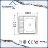 Boven de TegenGootsteen van de Keuken van Moduled van het Roestvrij staal (acs-6060)