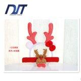 Jogo do anel do aplauso de Staghorn dos Sequins dos fechos da cabeça dos Antlers do Natal