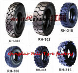 Forklift Tyre Tire com Good Traction (18X7-8 28X9-15)